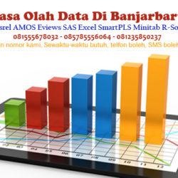 Jasa Olah Data SPSS Lisrel AMOS Eviews Excel di Banjarbaru